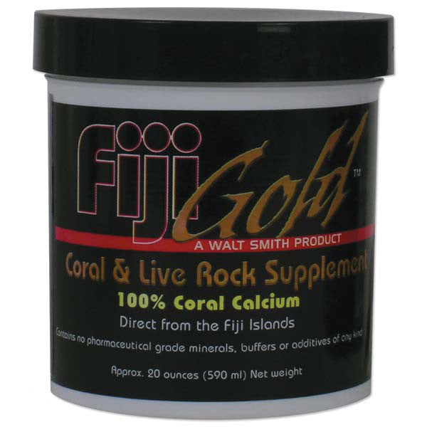 Fiji Gold Coral and Live Rock Food