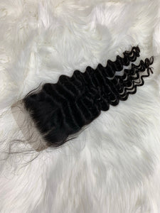 Indian Tight Curl Closure