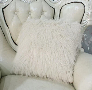 Luxury Faux Fur Decorative Pillow Cover Virtual Glam Shop
