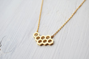 The Beehive Necklace