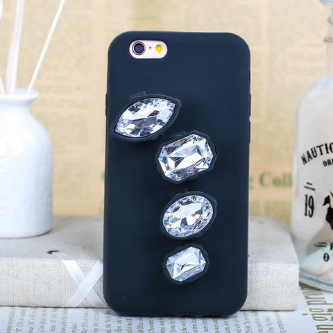 Image of Luxury 3D Crystal Diamond Ring Phone Case Virtual Glam Shop