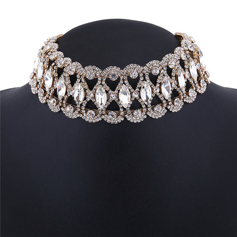 Image of Glamour Girl Crystal Choker Virtual Glam Shop