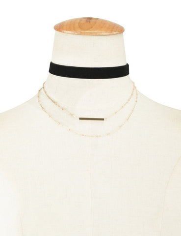 Vintage Layered Choker Virtual Glam Shop