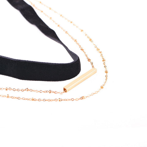 Image of Vintage Layered Choker Virtual Glam Shop