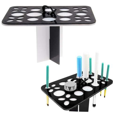 Image of Makeup Brush Storage Dryer Stand Virtual Glam Shop