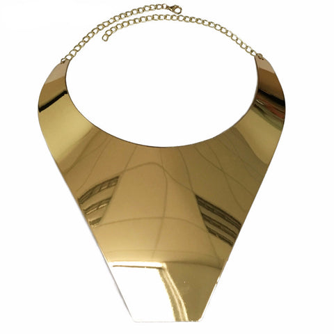 Image of Golden Armor Choker Gold Virtual Glam Shop