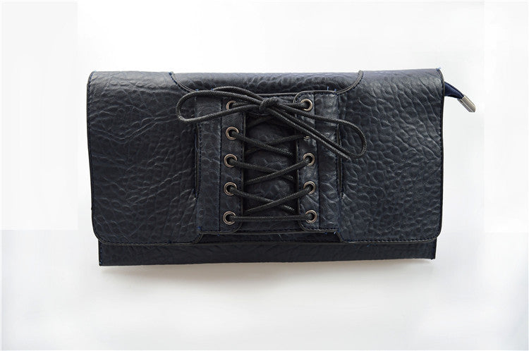 All Laced up Clutch Virtual Glam Shop