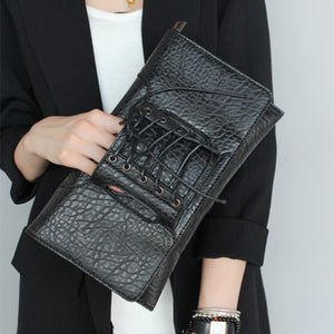 All Laced up Clutch