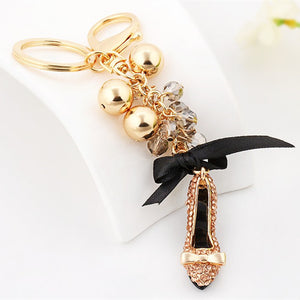 High Heel Shoe Handbag Key-ring