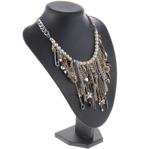 Image of Pearls and Rock & Roll Necklace