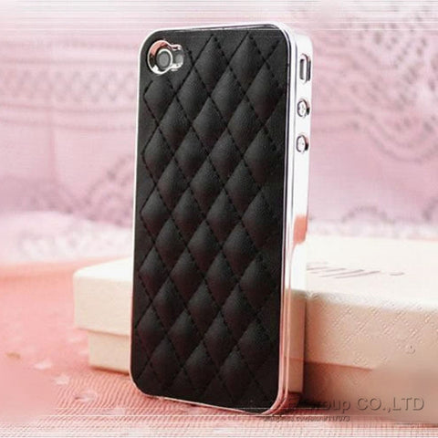Image of Soft Leather Tuft Phone case Virtual Glam Shop