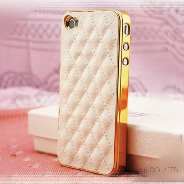 Soft Leather Tuft Phone case Virtual Glam Shop