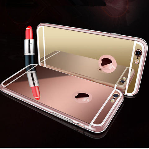 Luxury Mirror Back Cover Phone Case Virtual Glam Shop