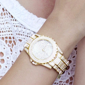Crystal Glam Girl Watch Virtual Glam Shop