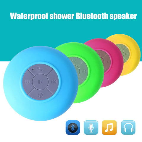 Image of Waterproof Wireless Bluetooth Shower Speaker