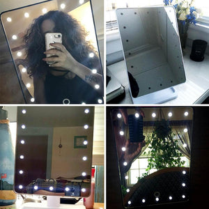 LED Glam Makeup Mirror