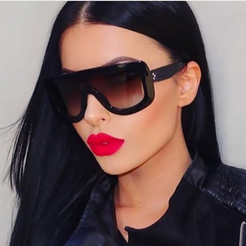 Image of Flat Top Sunglasses Virtual Glam Shop