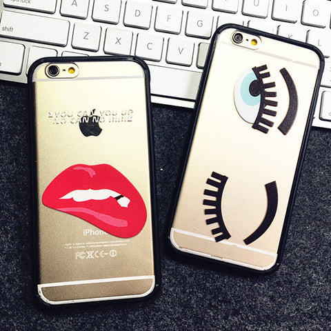 Sexy Eyes and Lipstick Cell Phone Case Virtual Glam Shop