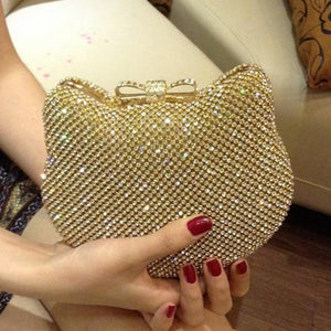 Hello Kitty Crystal Clutch