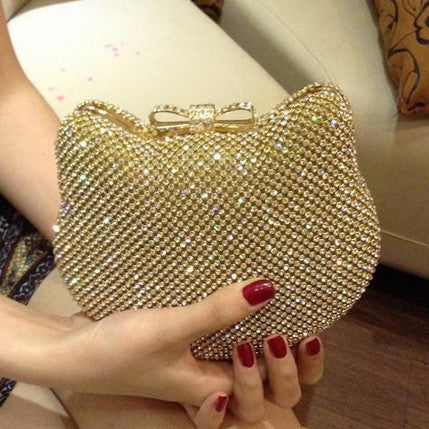 Image of Hello Kitty Crystal Clutch Virtual Glam Shop