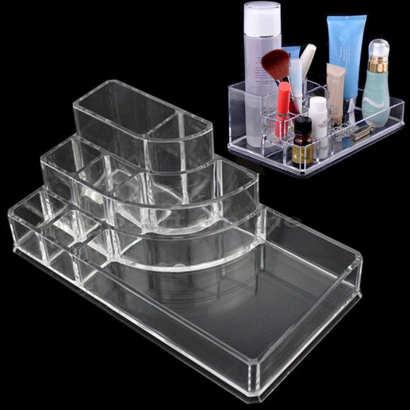 Acrylic Makeup / Jewelry Cosmetic Storage Display Virtual Glam Shop