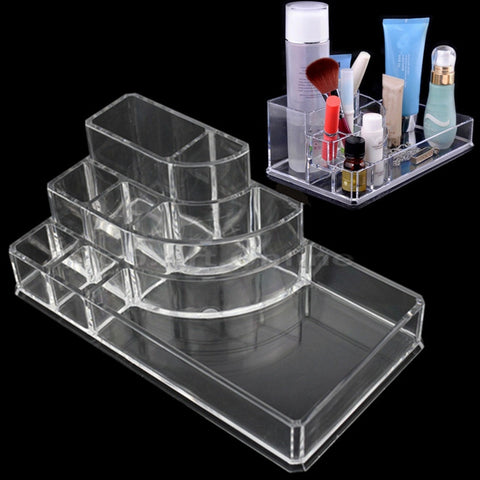 Image of Acrylic Makeup / Jewelry Cosmetic Storage Display Virtual Glam Shop