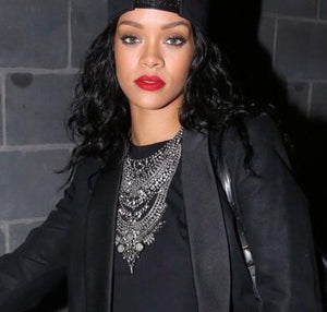 Rihanna Vintage Statement Necklace