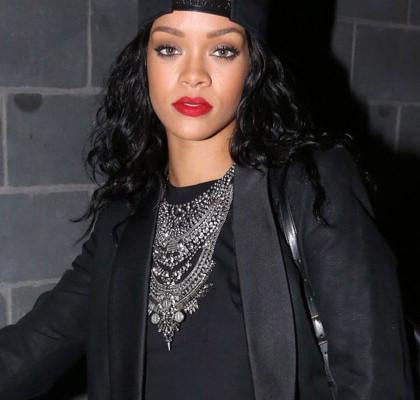 Image of Rihanna Vintage Statement Necklace