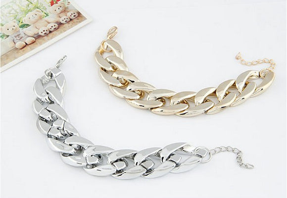 Chunky Chain Bracelet Virtual Glam Shop