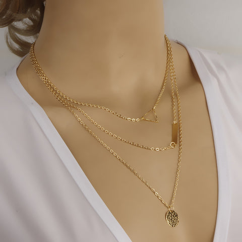 Multi Layer Necklaces Virtual Glam Shop