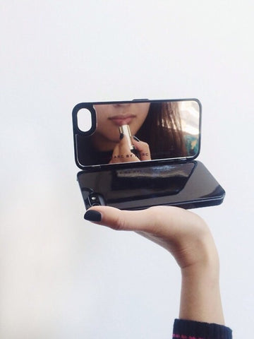 Image of Mirror Wallet Cell Phone Case Virtual Glam Shop