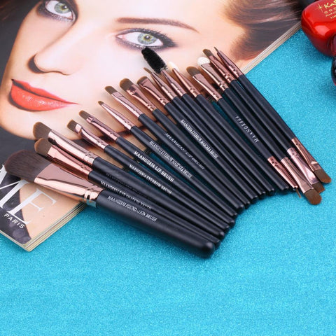 20Pcs Makeup Brush Set Virtual Glam Shop
