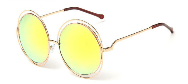 Oversize Double Ring Sunglasses