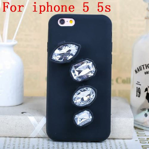 Image of Luxury 3D Crystal Diamond Ring Phone Case Clear iphone 5s Virtual Glam Shop