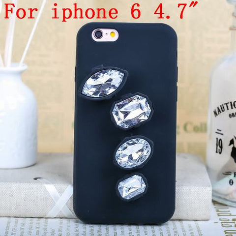 Luxury 3D Crystal Diamond Ring Phone Case Clear iphone 6s Virtual Glam Shop