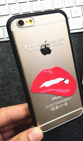 Sexy Eyes and Lipstick Cell Phone Case Sexy Lipstick Virtual Glam Shop