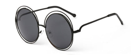 Image of Oversize Double Ring Sunglasses