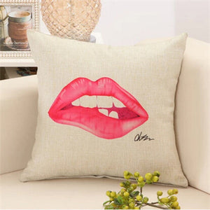 Glamour Girl Decorative Pillows