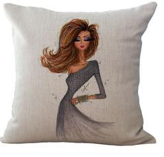 Fashionista Decorative Pillows Virtual Glam Shop