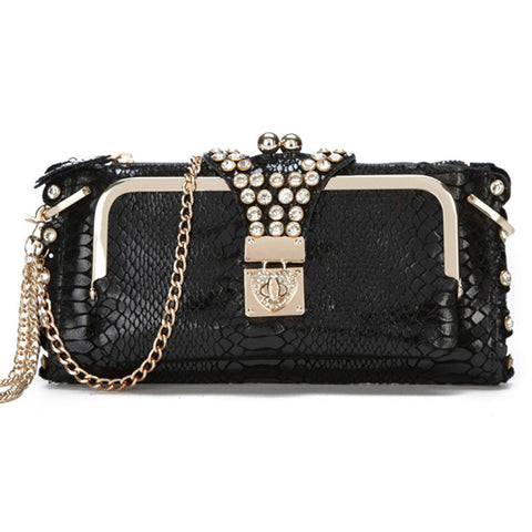 Ladies Night Out Clutch Black Virtual Glam Shop