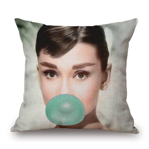 Marilyn & Dorthy Square Decorative Pillows M0839a Virtual Glam Shop