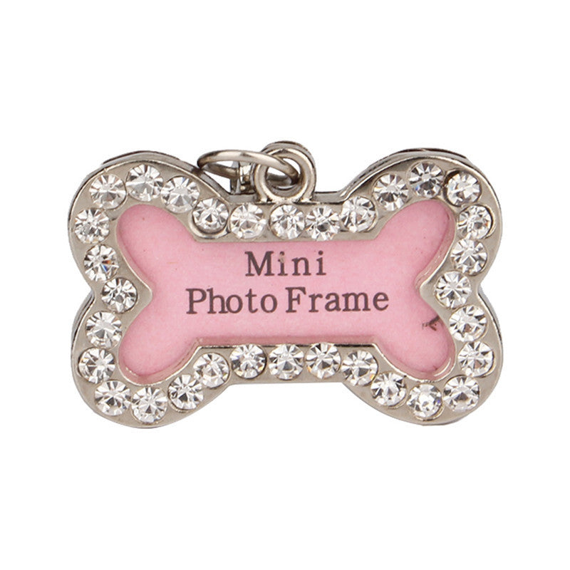Puppy Bone Bling Identification Tag Virtual Glam Shop