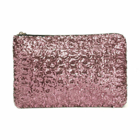 Image of Sequin Clutch Pink Virtual Glam Shop