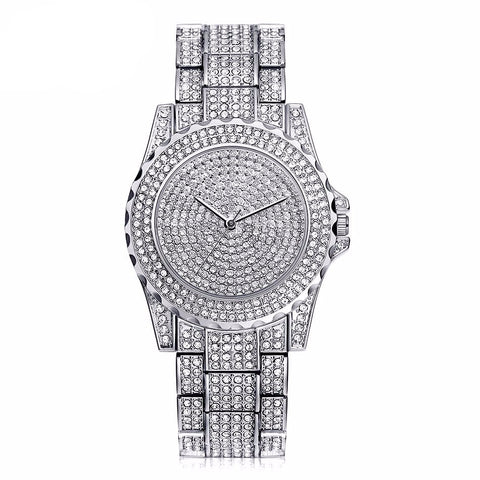 Crystal Glam Girl Watch Silver Virtual Glam Shop