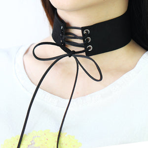 All Laced Up Choker