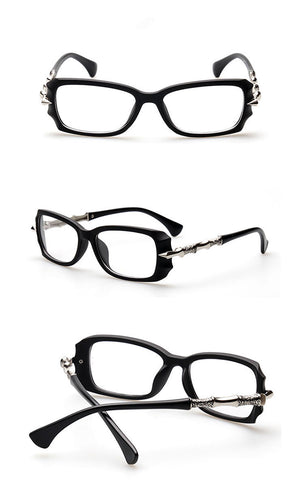 Image of Sassy But Classy Eyewear bright black Virtual Glam Shop