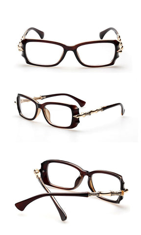 Image of Sassy But Classy Eyewear brown Virtual Glam Shop