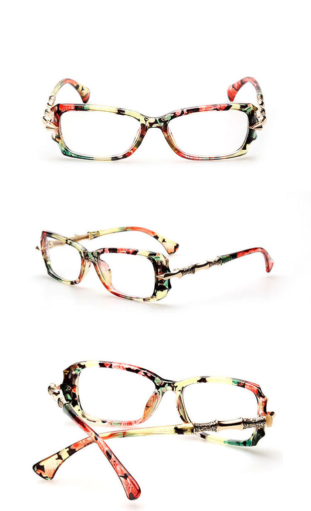 Sassy But Classy Eyewear flower Virtual Glam Shop
