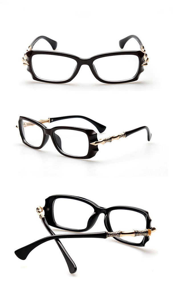 Sassy But Classy Eyewear shiny black Virtual Glam Shop