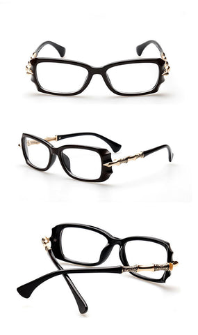 Image of Sassy But Classy Eyewear shiny black Virtual Glam Shop